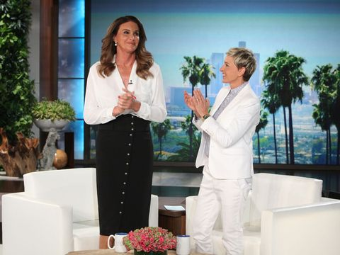 Caitlyn Jenner Gets Interviewed by Ellen DeGeneres