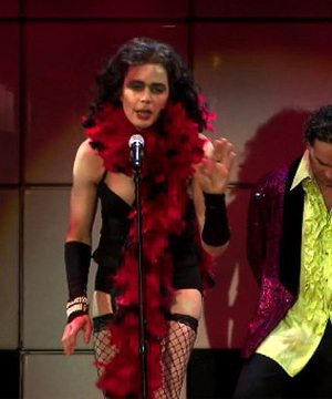 """Big Bang Theory"" Stars Do Rocky Horror"