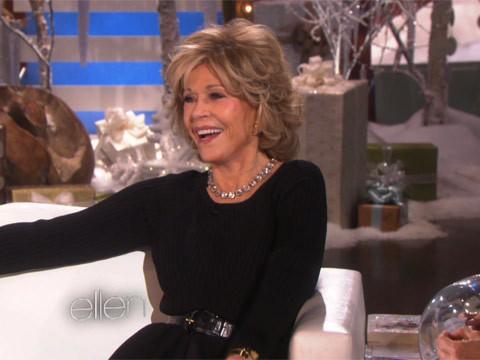 Jane Fonda Reveals Leading Man Crush