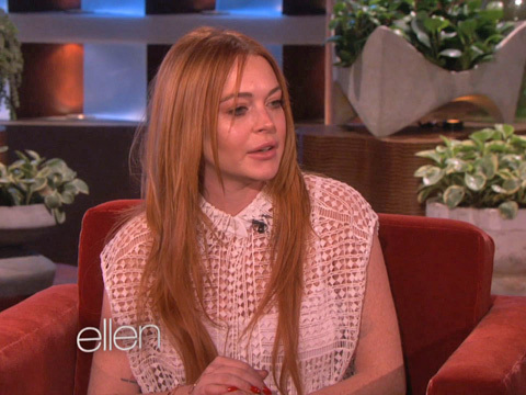 Lindsay Lohan Talks About Rehab and Oprah Winfrey