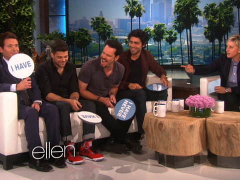 The Guys of 'Entourage' Play 'Never Have I Ever'