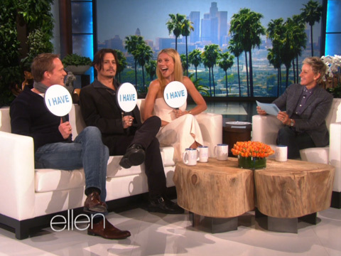 "The Stars of ""Mordecai"" Play ""Never Have I Ever"" With Ellen!"