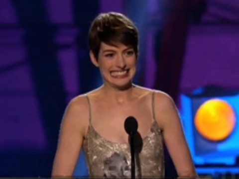 Anne Hathaway Complains About Her Name Being Mispelled