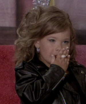 """Toddlers and Tiaras"" Shocker: 4-Year-Old ""Smokes"" on Stage"
