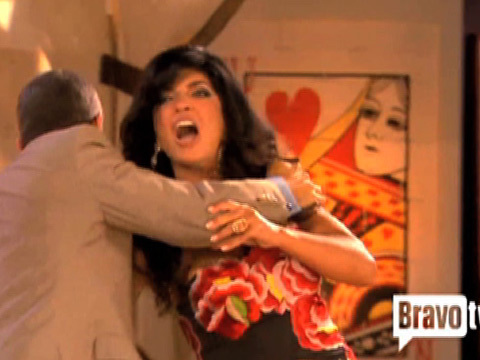 "Top ""Real Housewives"" Reunion Moment: Teresa Goes Beserk"