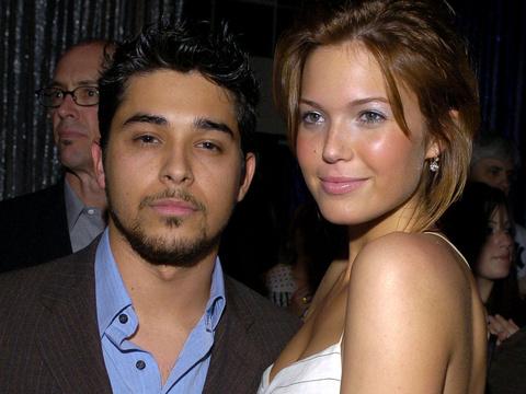 Where's Demi? Mandy Moore Reunites with Ex-Boyfriend Wilmer Valderrama