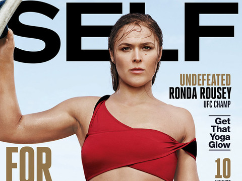 Ronda Rousey Shows Off Fit Swimsuit Bod in SELF -- See Sexy Pics!
