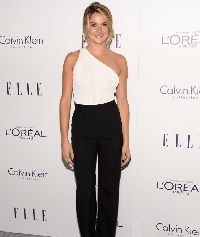 Shailene Woodley, Amy Schumer & More Stars Go Glam at Elle's Women In…