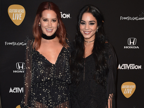 "Ashley Tisdale And Vanessa Hudgens Have a Mini ""High School Musical"" Reunion"