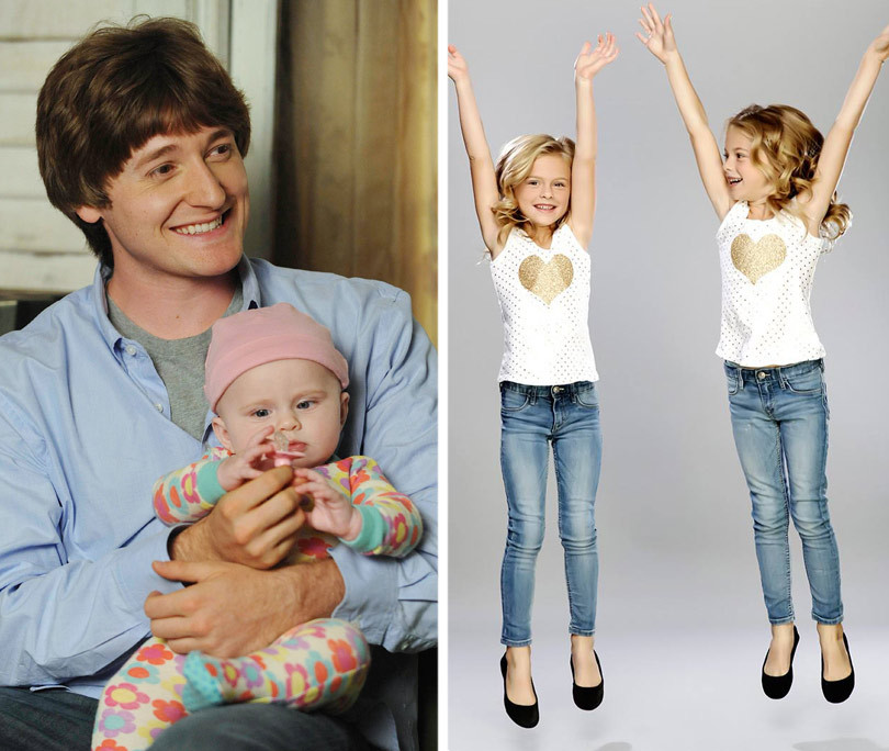 """Raising Hope"" Twins Transform Into Iconic Horror Children -- See How Big They Are Now!"