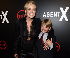 Sharon Stone Steps Out With Her Rarely-Seen Son -- He's So Big Now!