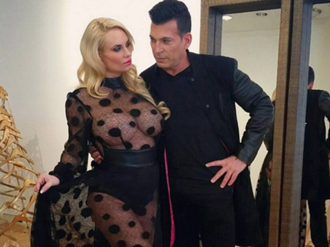 Coco Austin Shows Serious Skin in Completely Sheer Dress -- Wait, Where's Her Baby Bump?!