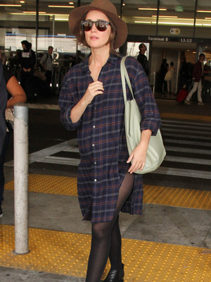 Rose Byrne Is Pregnant -- See First Photos of Her Baby Bump!