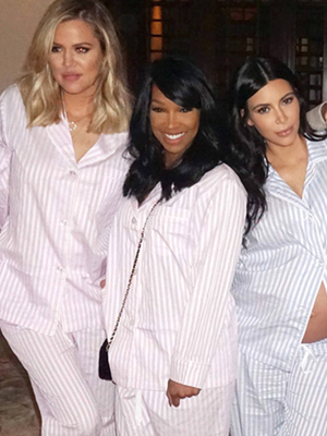 Kim Kardashian Shows Off Her Bare Bump & Adorable North West In New Baby Shower Pics