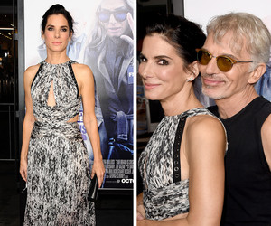 "Sandra Bullock Sizzles In Sexy Cutout Dress at ""Our Brand Is Crisis"" Premiere"