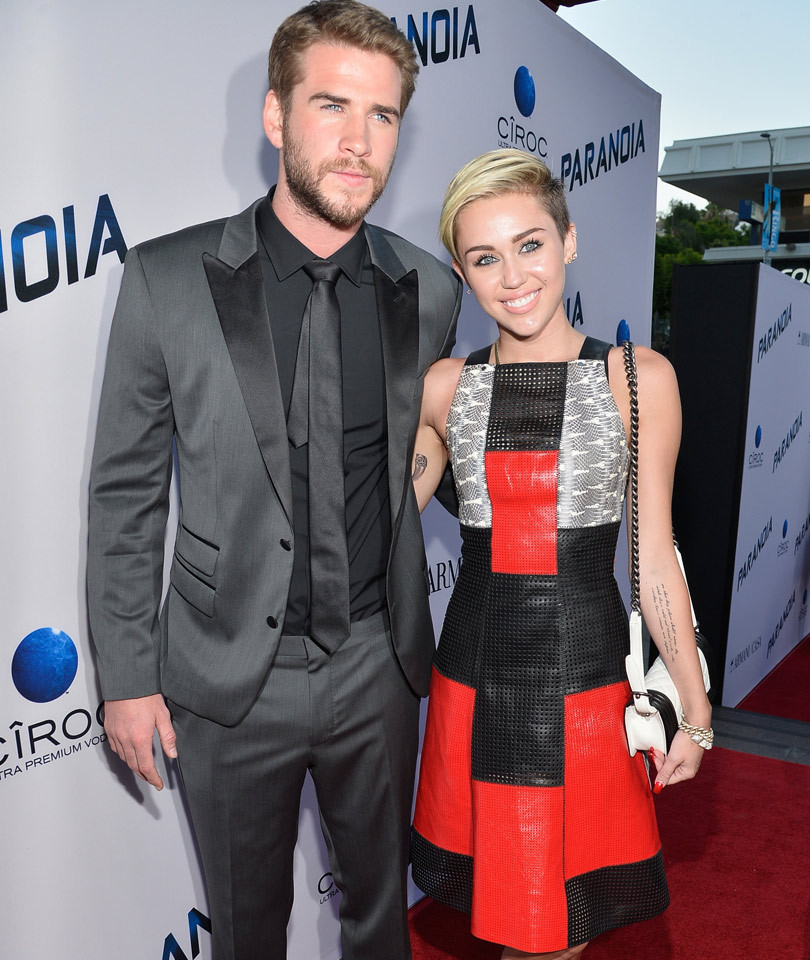 "Liam Hemsworth on Miley Cyrus: ""I Guess Some People Just Come with a Little More Baggage"""
