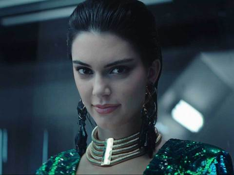 Kendall Jenner Shows Off Her Dance Moves In Balmain's Futuristic H&M Campaign!
