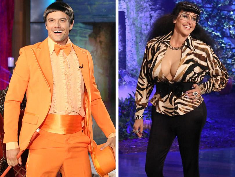 Ellen DeGeneres Scares The Crap Out of Josh Duhamel & Eric ...