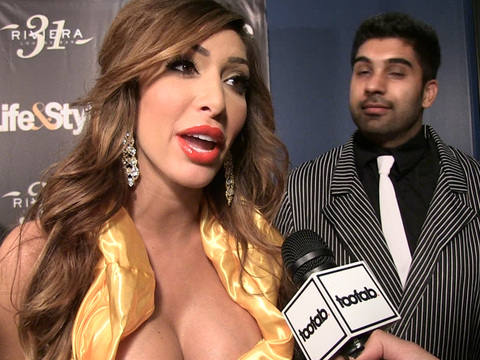 Farrah Abraham Shows Off Third Boob Job with Very Revealing Belle Costume