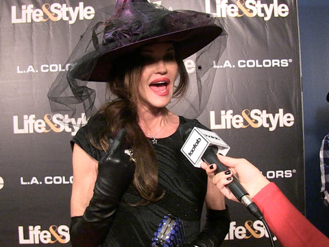 "Janice Dickinson Looks Back at ""ANTM"" Days ... Then Sings Ghostbusters!"