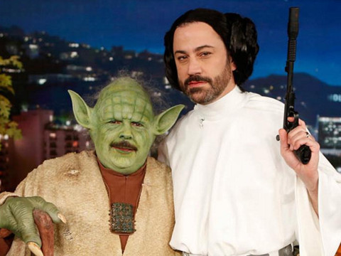"""Jimmy Kimmel's """"I Ate Your Halloween Candy"""" Prank Is Back -- and Mark Ruffalo Got In on…"""
