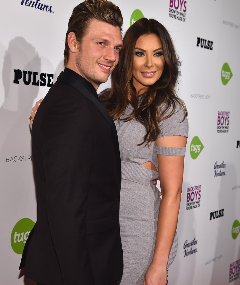 """Nick Carter Reveals Gender of Baby on """"DWTS"""" -- See the Emotional Moment!"""