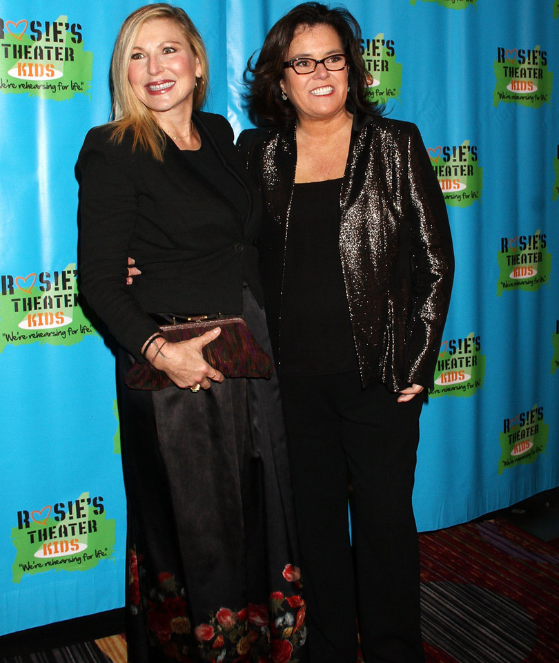 Rosie O'Donnell Hits the Red Carpet with Her Kids and Rumored Girlfriend Tatum O'Neal