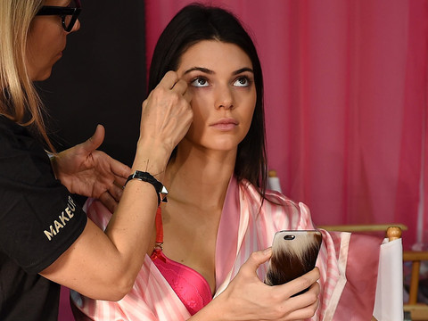 Go Backstage at the 2015 Victoria's Secret Fashion Show with Kendall Jenner