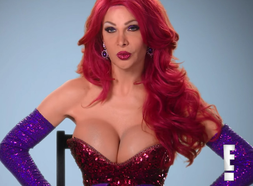 Meet the Model Who Spent $200,000 to Look Just Like Jessica Rabbit!