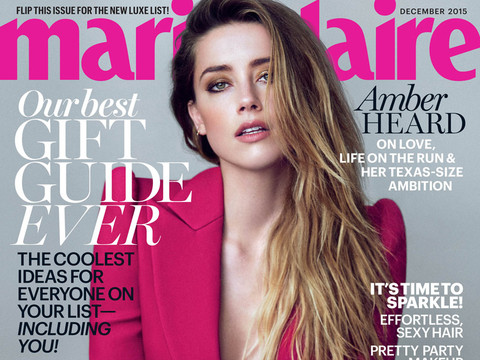 "Amber Heard Talks Rumors She's Splitting From Johnny Depp, Says It's ""Hard"""