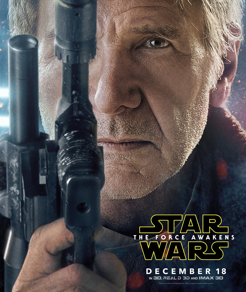 "New ""Star Wars: The Force Awakens"" Trailer Spotlights Shooting Han, BB-8 &…"