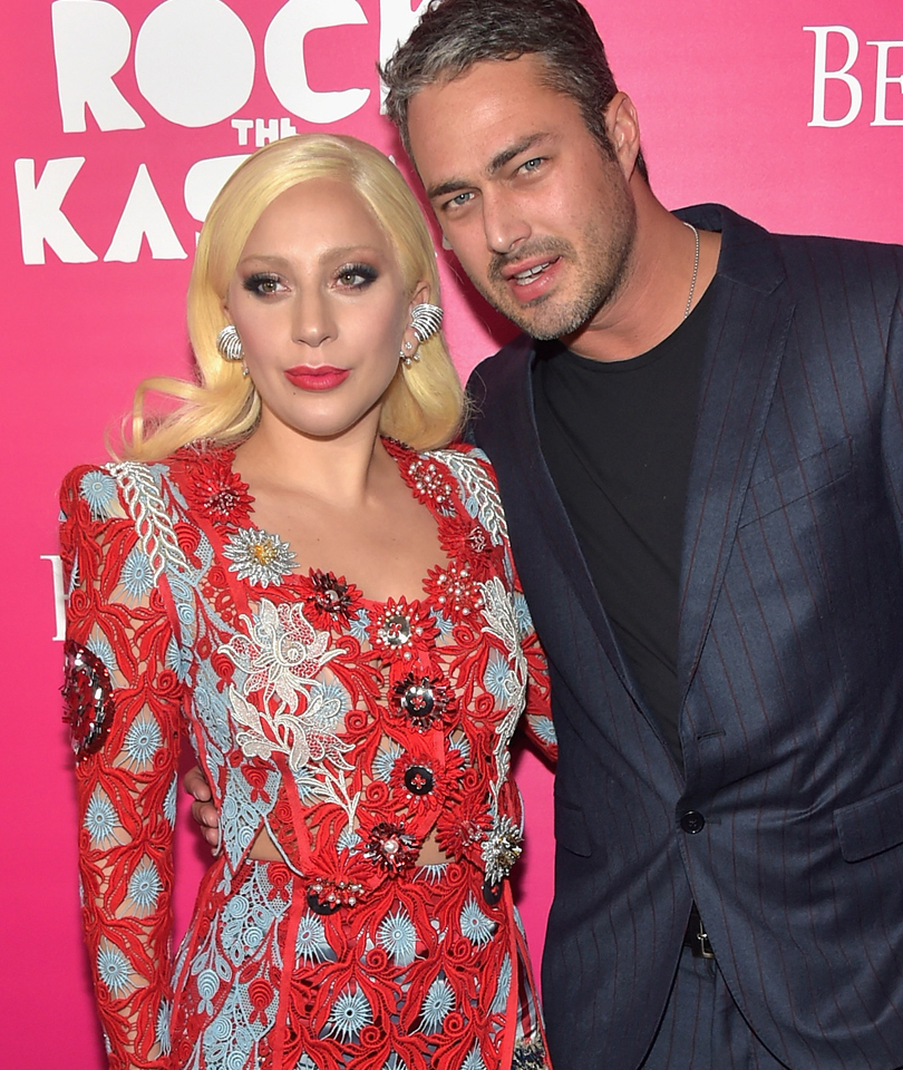 Lady Gaga Stuns in Makeup-Free Selfie With Taylor Kinney