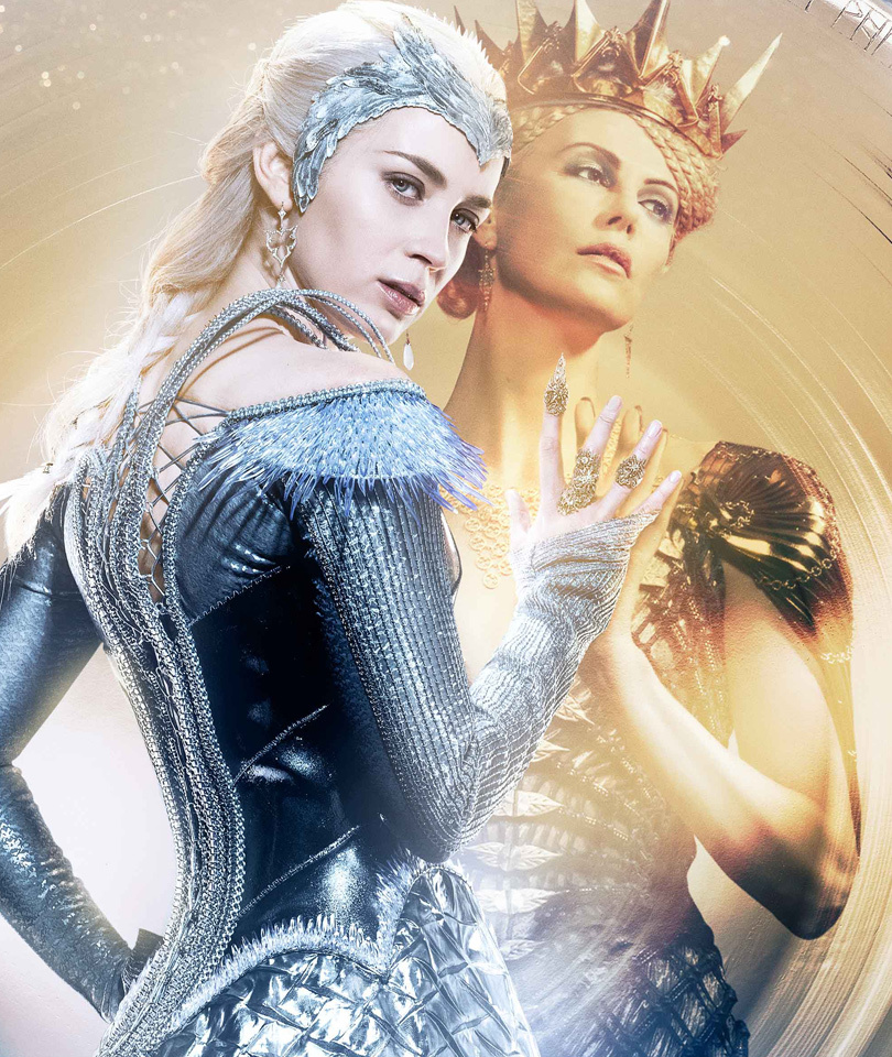 """Emily Blunt Plays One Evil Elsa In First Trailer for """"The Huntsman: Winter's…"""