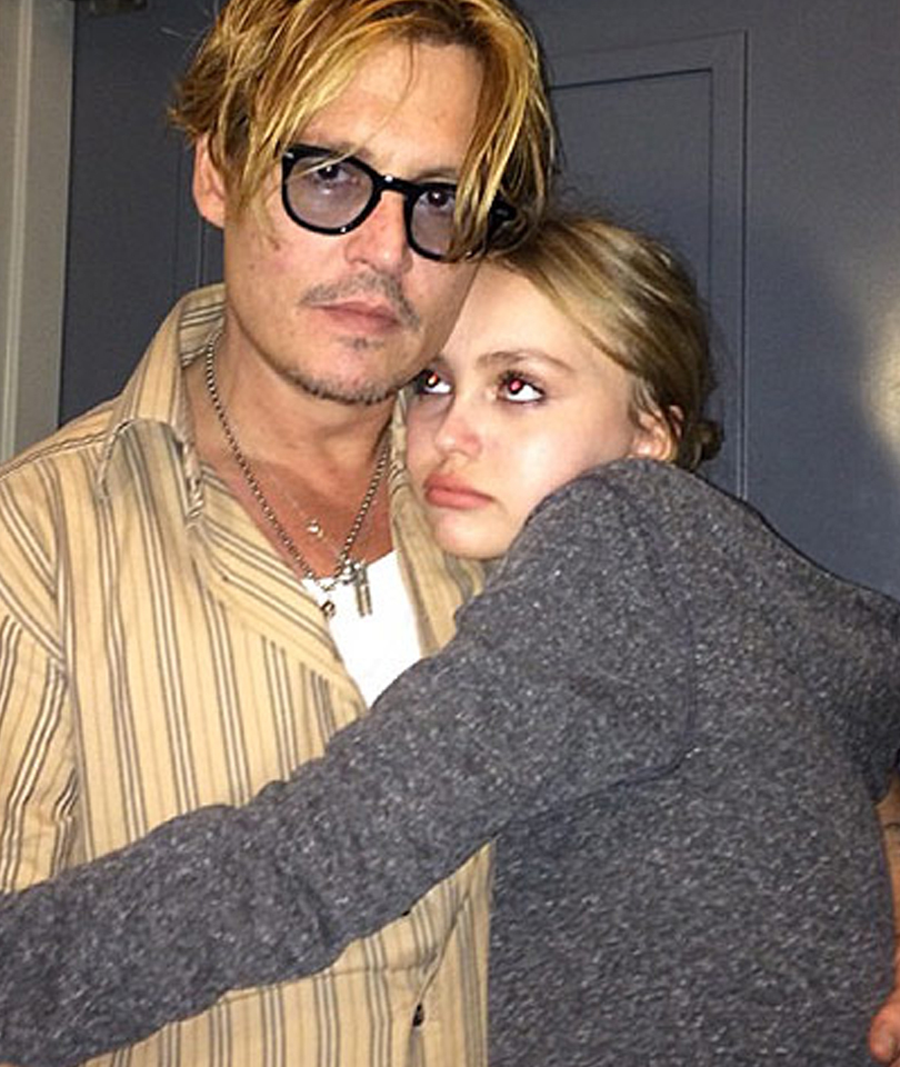 "Johnny Depp Is Proud of Daughter Lily-Rose For Being Open About Her Sexuality, But Says She's ""Growing Up Too Fast"""