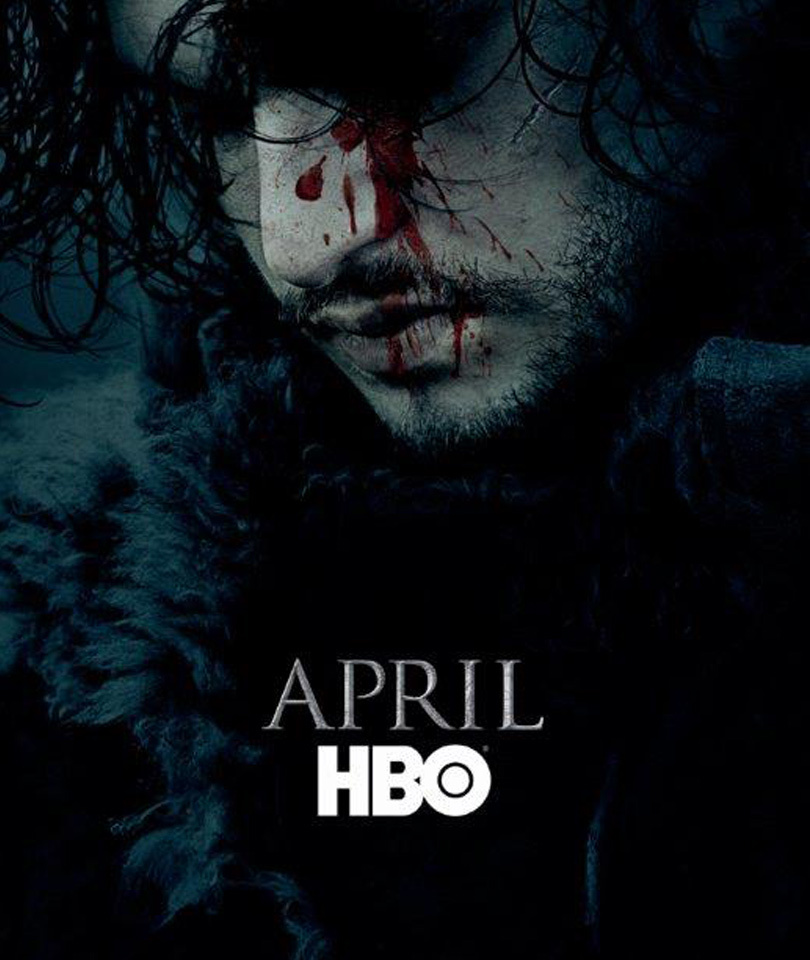 "Jon Snow Featured In First Teaser Poster for ""Game of Thrones"" Season 6"