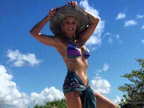 Christy Brinkley, 61, Shows Off Smokin' Hot Bikini Bod on Family Vacation