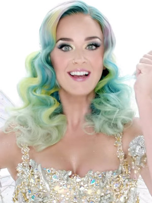 Katy Perry Spreads Some Holiday Cheer In Her New Campaign For H&M