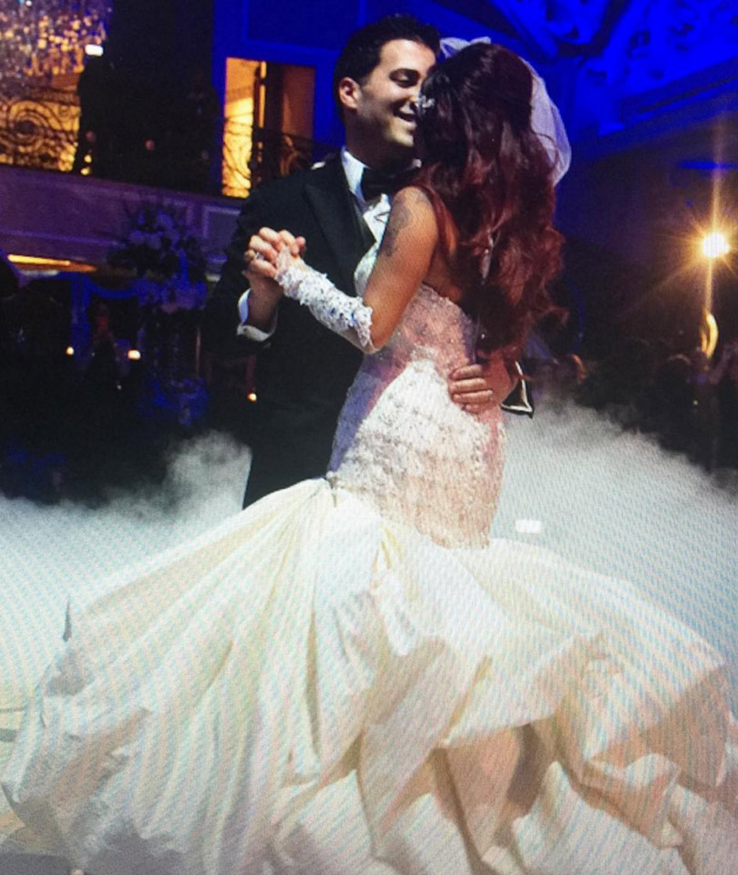 Snooki Celebrates First Wedding Anniversary With Hubby Jionni LaValle I Wanna Grow Old