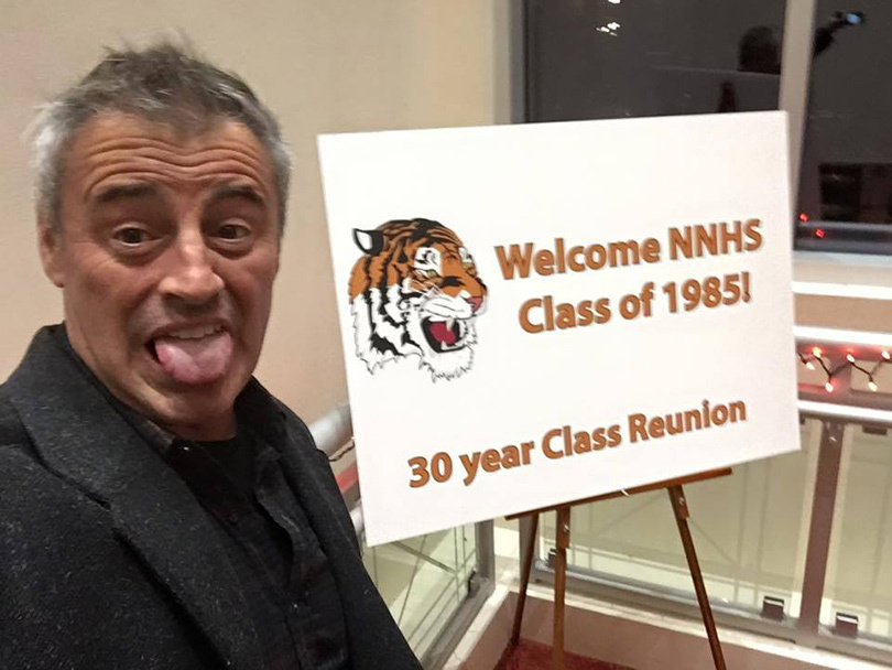 Matt LeBlanc Hilariously Live Tweets His 30th High School Reunion