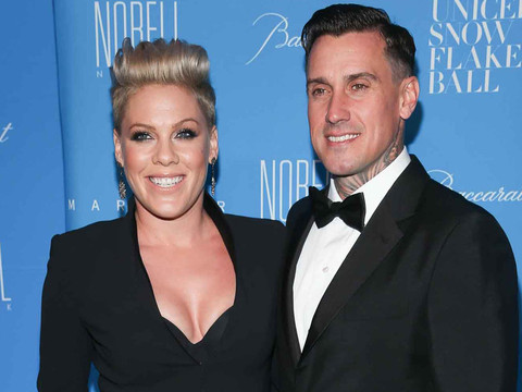 Pink & Carey Hart Stun at the 11th Annual UNICEF Snowflake Ball