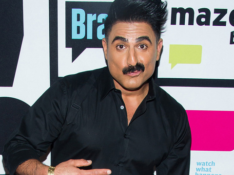 "You've Gotta See What ""Shah's of Sunset"" Star Reza Farahan Almost Wore to His Birthday…"