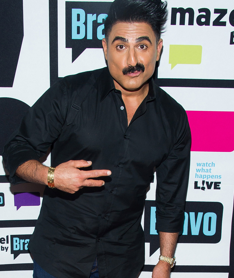 "You've Gotta See What ""Shah's of Sunset"" Star Reza Farahan Almost Wore to His…"