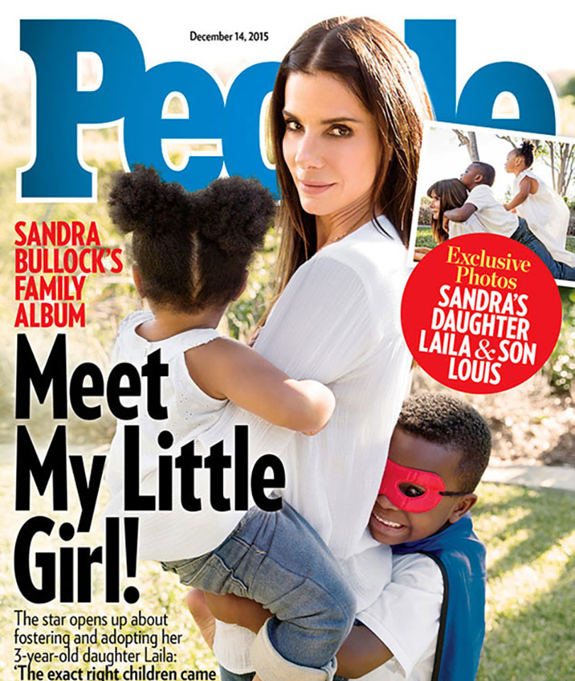 Sandra Bullock Adopts 3-Year-old Girl -- Meet Leila!
