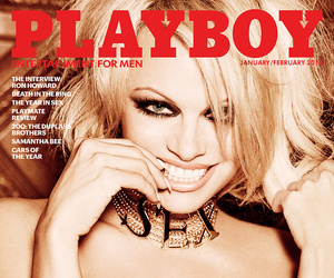 Pam Anderson Covers the Final Nude Issue of Playboy EVER -- And Her Teen Sons…