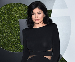 Kylie Jenner Wows In A Sexy Sheer Dress at GQ's Men Of The Year Party!