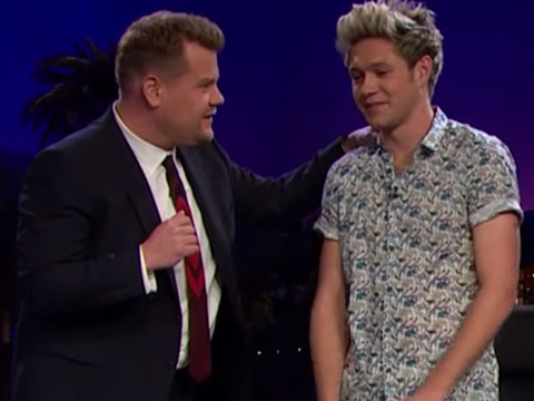 One Direction Plays Tattoo Roulette With James Corden -- See Who Gets Inked on TV!