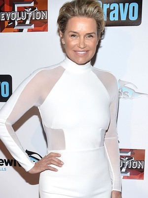 "Yolanda Foster Makes First Post-Split Appearance at ""RHOBH"" Premiere Party"