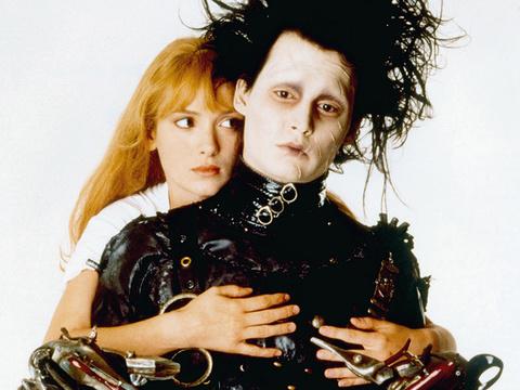 """Edward Scissorhands"" Turns 25 -- Makeup Designer Opens Up About Johnny Depp's Classic…"