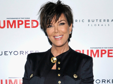 Kris Jenner Slips Into a Swimsuit for Love Magazine's Risque Advent Calendar