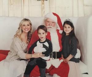 Sarah Michelle Gellar Takes Kids Rocky & Charlotte to See Santa!